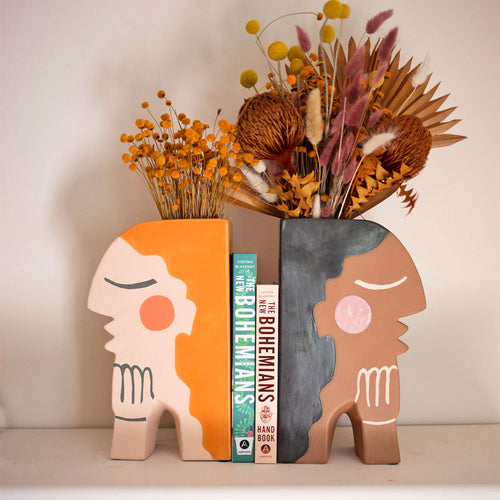 Face Bookend Vase by Justina Blakeney®