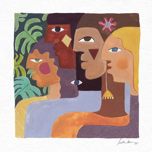 Intuition Art Print by Justina Blakeney® now available at Jungalow®