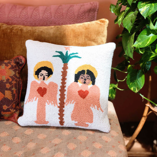 Angels Sing Hook Pillow by Justina Blakeney®