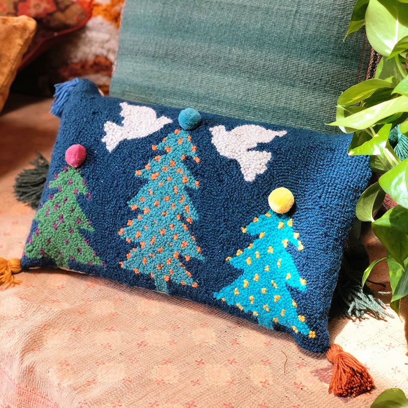 Festive Noa Hook Pillow designed by Justina Blakeney® now at Jungalow®