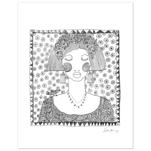 Emuna Art Print by Justina Blakeney® - Jungalow