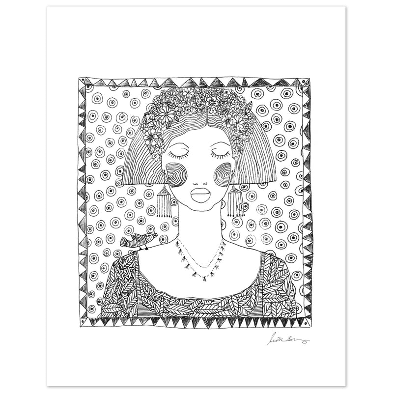 Emuna Art Print by Justina Blakeney® exclusively for Jungalow