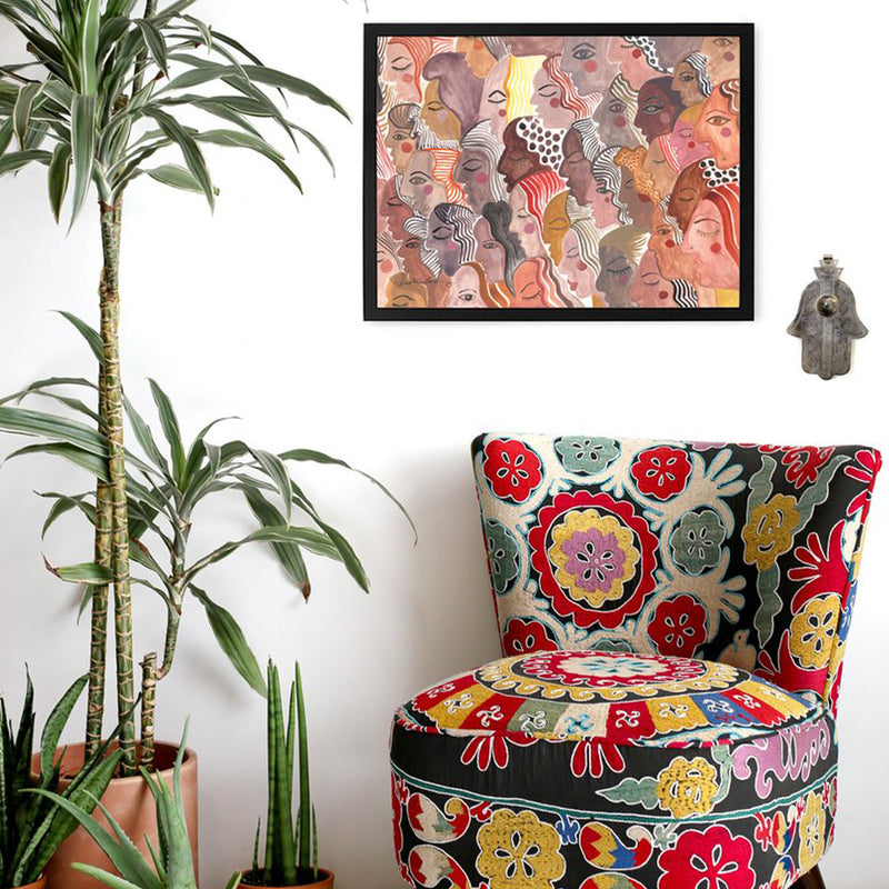 In Chorus Art Print by Justina Blakeney® - Jungalow