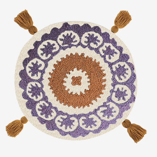 Round Flor Hook Pillow by Justina Blakeney® now at Jungalow®