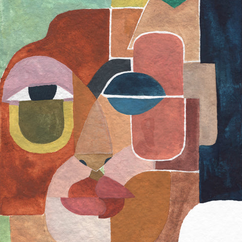Face 2 Art Print by Justina Blakeney® - Jungalow