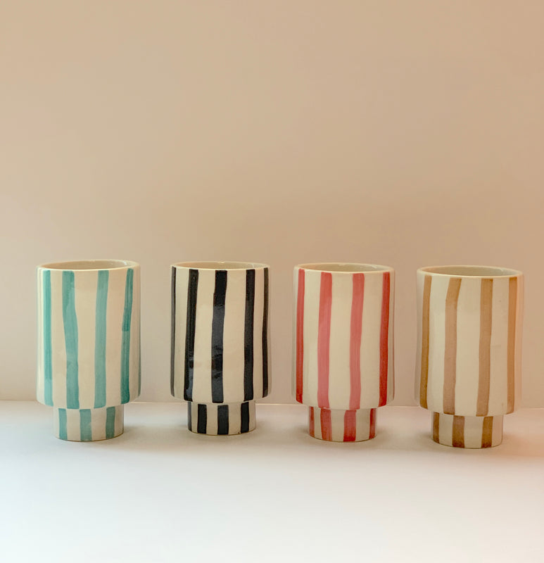 Striped Kaya Ceramic Cups by Justina Blakeney®