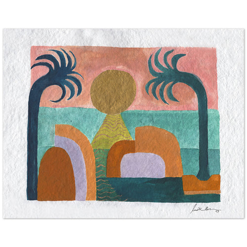 Isla Art Print by Justina Blakeney® now available at Jungalow®