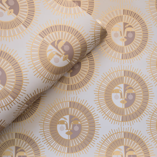 Ayo Wallpaper in Gold by Justina Blakeney®