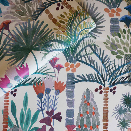 Phoenix Wallpaper in Naturale Sample by Justina Blakeney® | Jungalow®