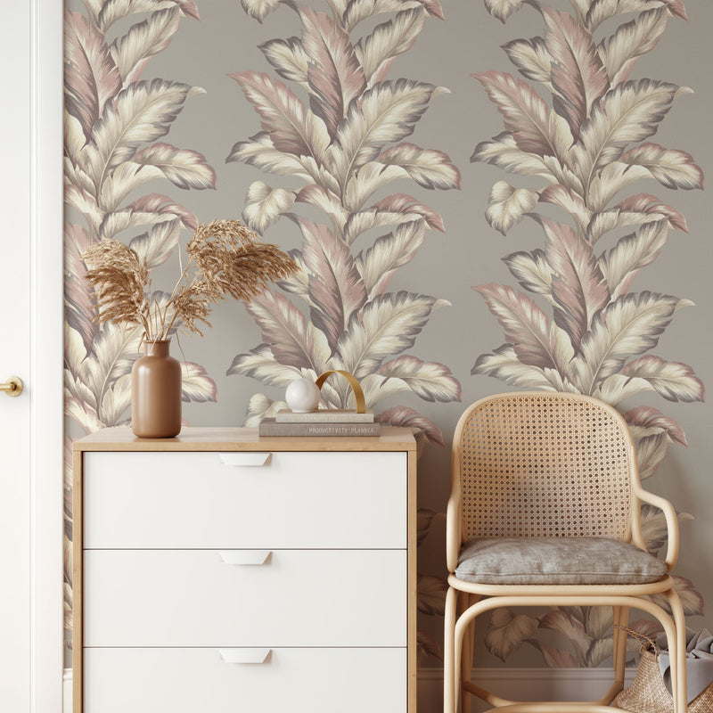 Lau Lau Wallpaper In Silver
