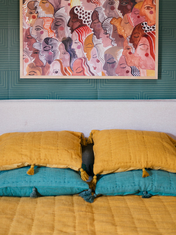 Sol Quilt in Turmeric by Like a Lion™