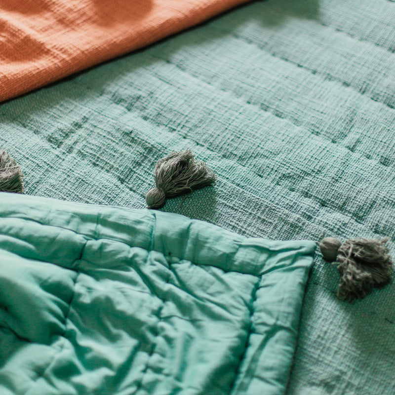 Sol Quilt in Sage by Like a Lion™