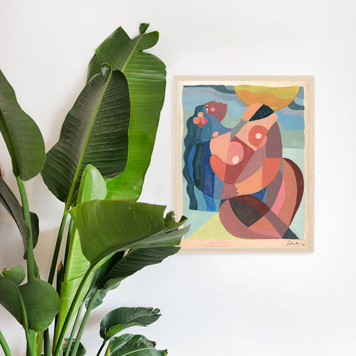 Love Me Some Me Art Print by Justina Blakeney®