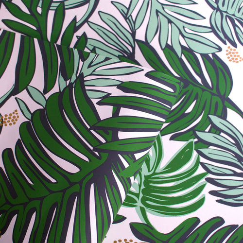 Aja Wallpaper in Green by Justina Blakeney®