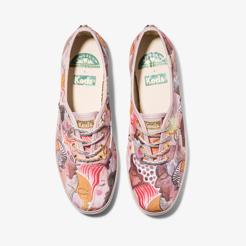 In Chorus Canvas Shoe by Keds x Jungalow®