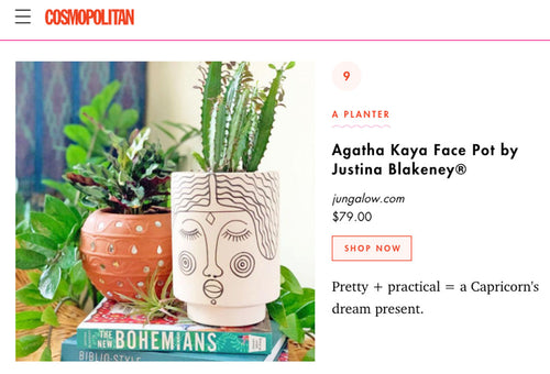 Agatha Kaya Face Pot by Justina Blakeney®