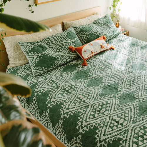 Aisha Quilt Set by Jungalow®