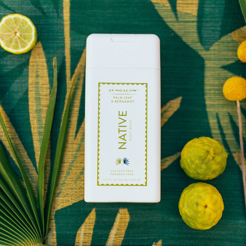 Jungalow® x Native Palm Leaf & Bergamot Body Wash