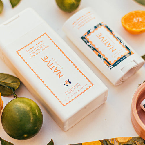Jungalow® x Native Tangerine & Citrus Blossom Body Wash