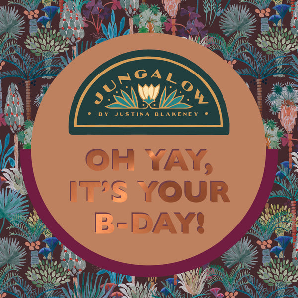 E-Gift Card | Oh Yay, It's your B-day!