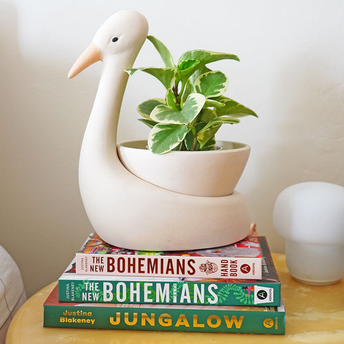 Egret Savannah Garden Pot by Justina Blakeney®
