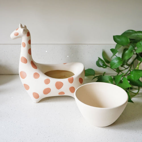 Giraffe Savannah Garden Pot by Justina Blakeney®