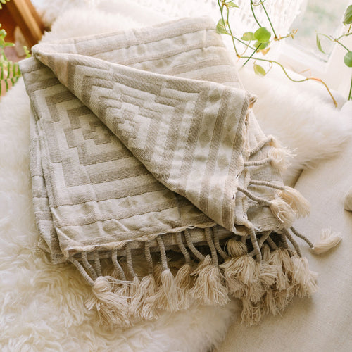 Hypnotic Throw Blanket by Jungalow®