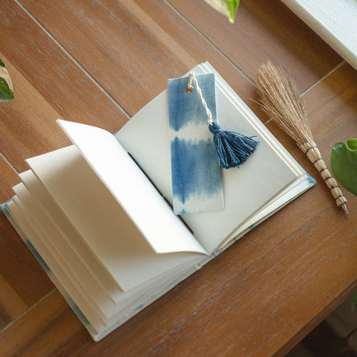 Aqua Fabric Wrapped Journal by Justina Blakeney®