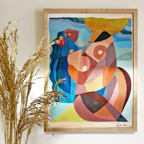Love Me Some Me Art Print by Justina Blakeney® | Jungalow®