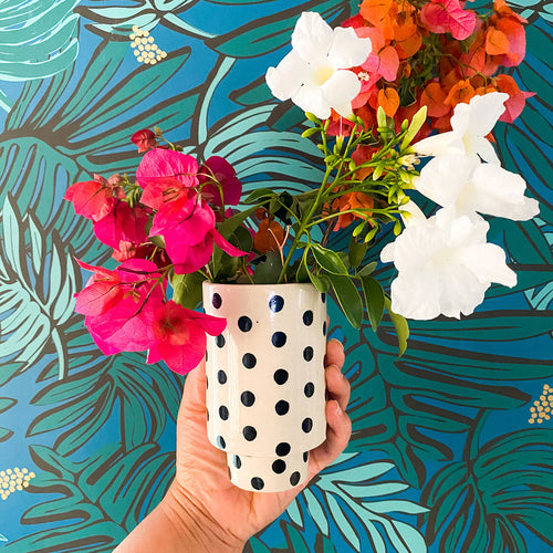 Kaya Dotted Ceramic Cups by Justina Blakeney®