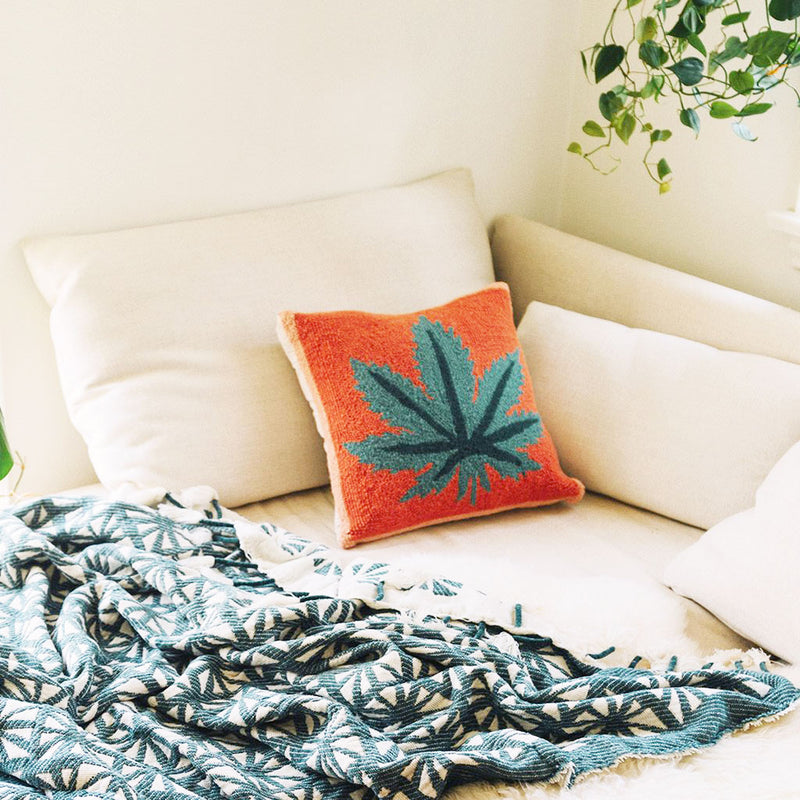 Mary Jane Hook Pillow by Jungalow®