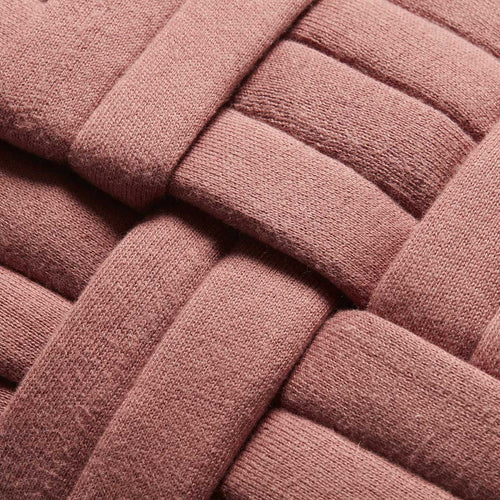 Pink Stitched Lumbar Pillow by Justina Blakeney® X Loloi