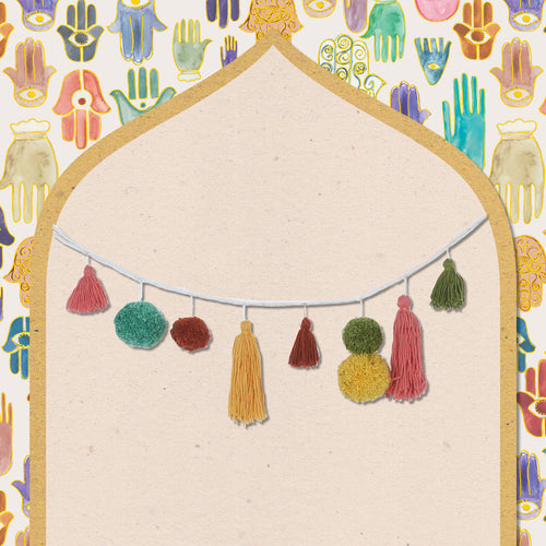 Tassel & Pom Pom Garland by Like A Lion™
