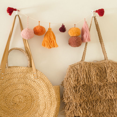 Spice Ombre Tassel & Pom Pom Garland by Like A Lion™