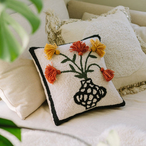 Primavera Tassel Hook Pillow by Justina Blakeney®