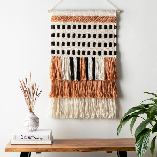 Peach Dash Wall Hanging