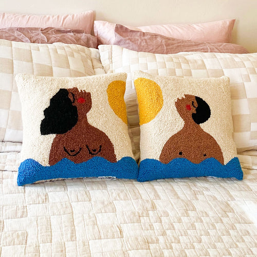 Summer Time Hook Pillow Set by Jungalow®