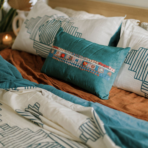 Soft Mint Pillow
