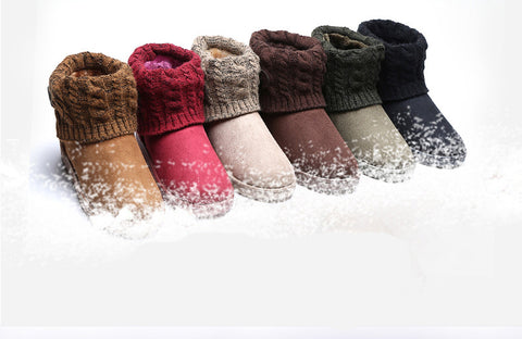 Woolen Ankle Boots