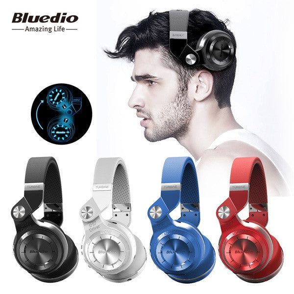 Bluedio T2s Turbine Bluetooth Wireless Stereo Headphones with Mic