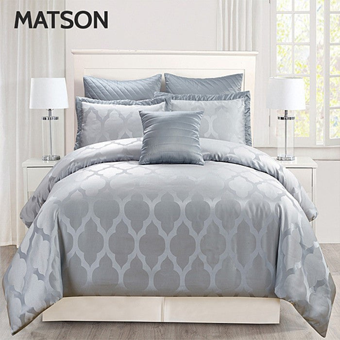 6,7,8-Piece Set: Hotel Collection Oversized & Overfilled Comforters - Flash Steals