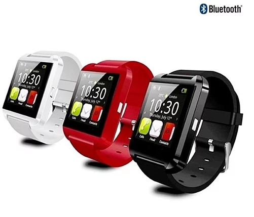 Bluetooth Silicone Smart Watch for iOS & Android - Assorted Colors - Flash Steals