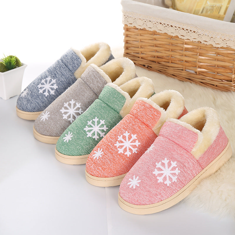 Winter Warm Cotton Sheep Slippers