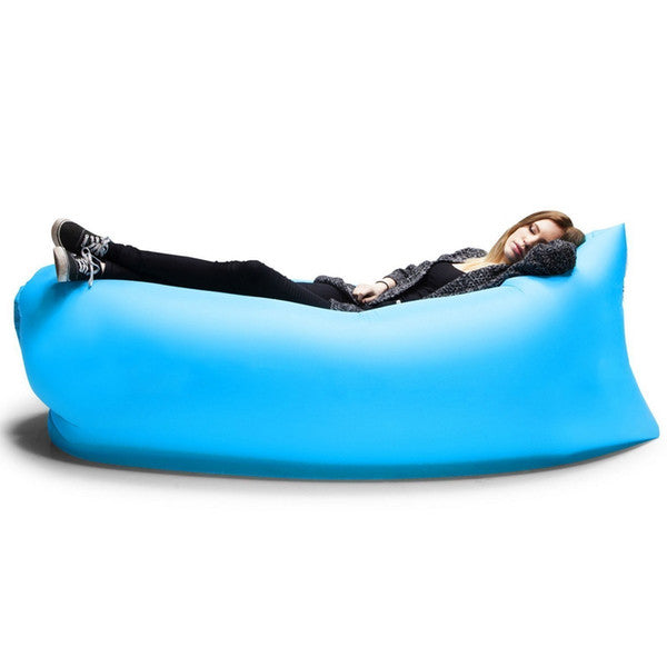 Inflatable Air Sleep Camping Bed Lounger