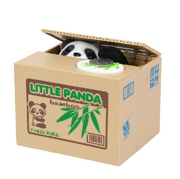 Stealing Coin Panda Box