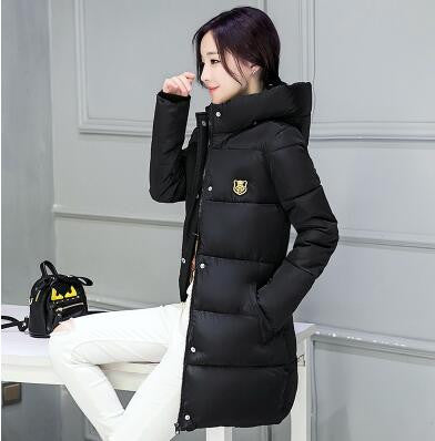 Womens Winter Thick Cotton Parkas Jacket - Multiple Colors