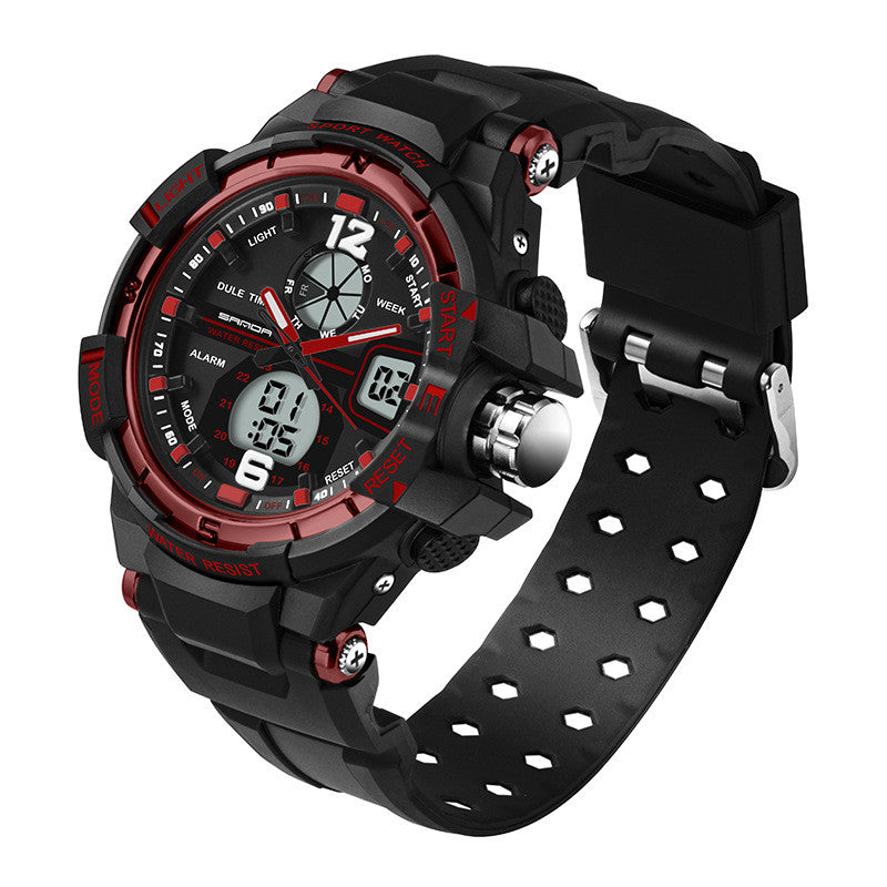 Mens Waterproof LED Watch