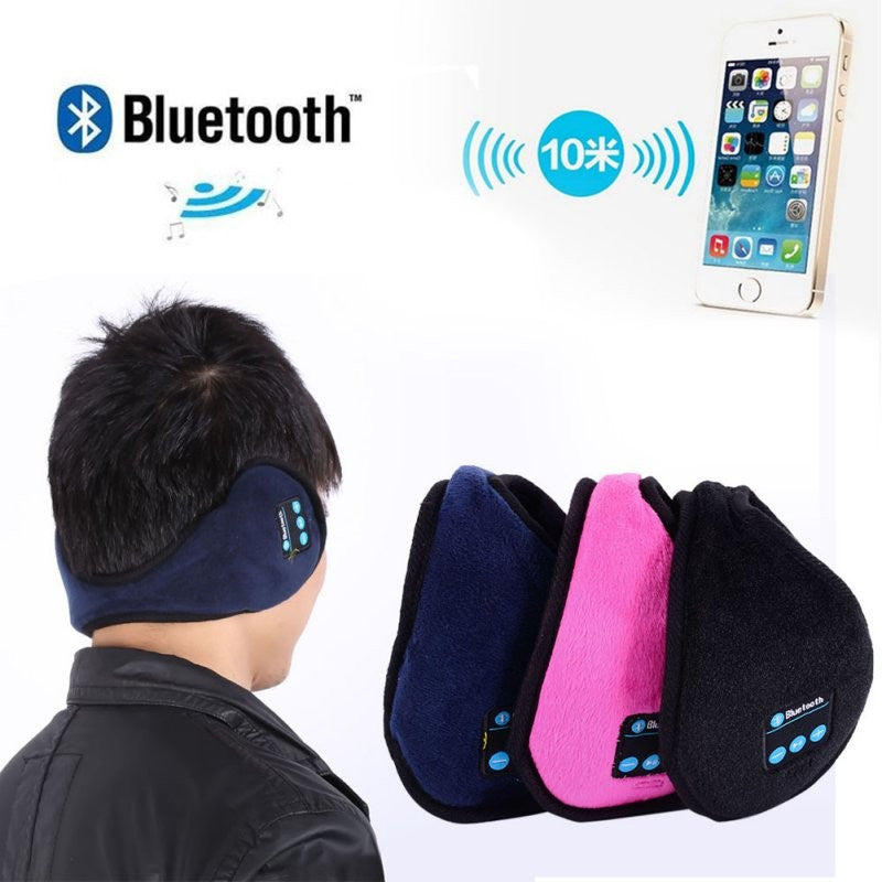 Ear Warmers with Built in Headphones