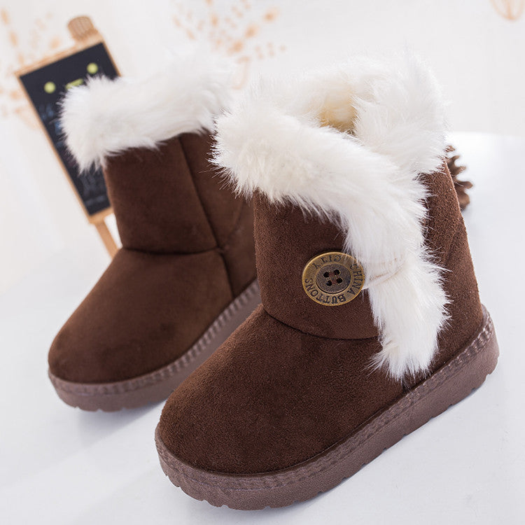 Kids Thick Warm Boots