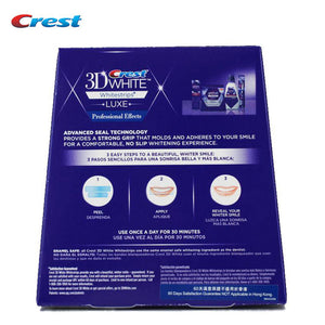10 Pouches: Crest 3D White LUXE Whitestrips